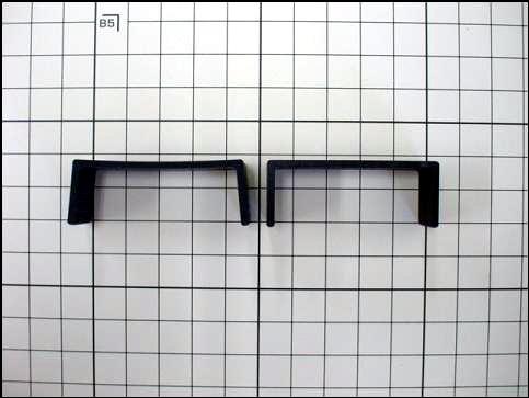コの字型の造形